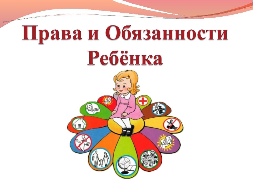 Картинка обязанности ребенка в картинках